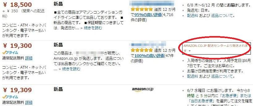 AmazonFBAのマーク